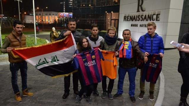Барселона в Минске