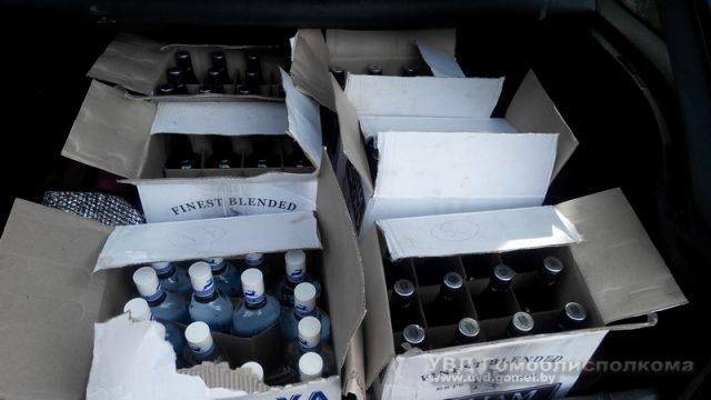 В Гомеле милиция пресекла торговлю алкоголем в интернете