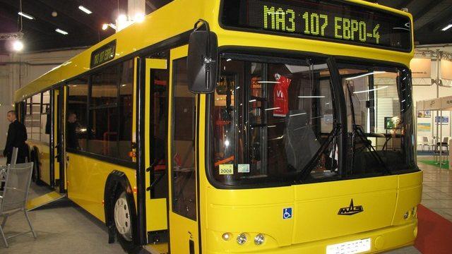 МАЗ поставит в Санкт-Петербург 80 автобусов