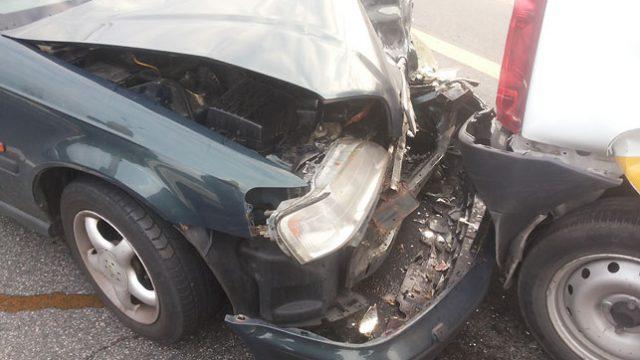 На МКАД столкнулись 5 автомобилей