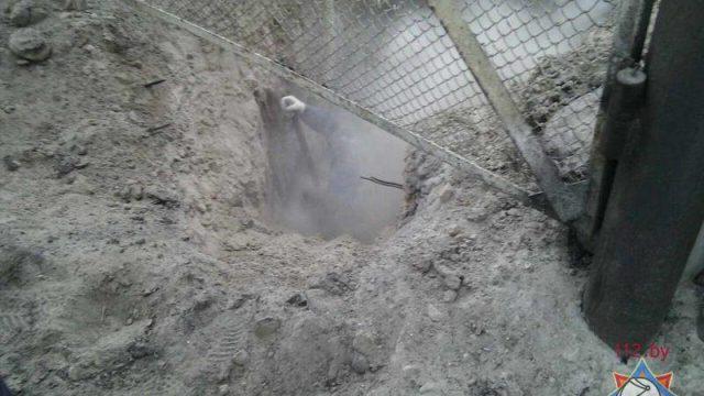 повредили газопровод