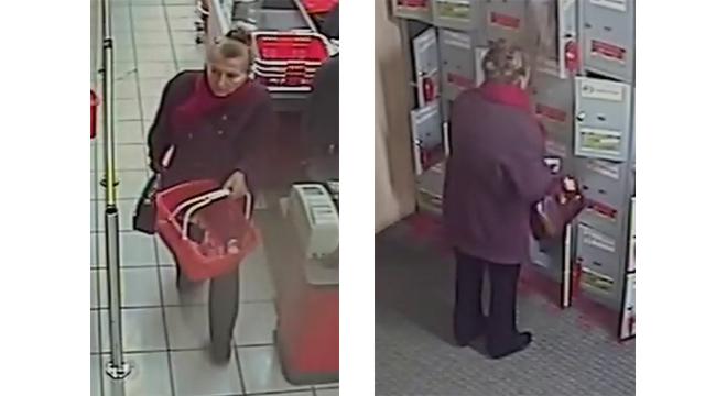 Минская милиция разыскивает женщину, совершившую кражу из ячейки камеры хранения супермаркета