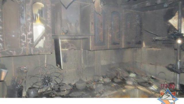 В Минске ароматическая свеча стала причиной пожара