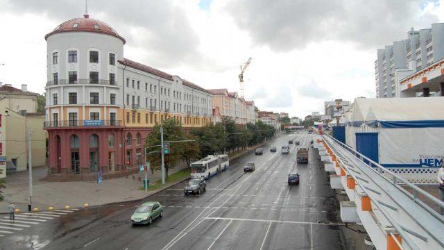 Завтра утром на Немиге в Минске ограничат движение