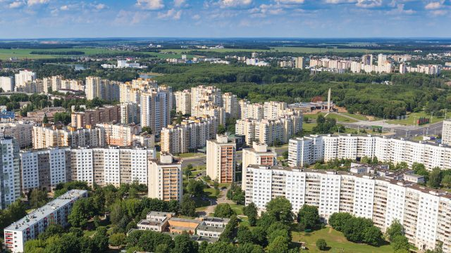 В Минске за текущий год построено 11 627 квартир