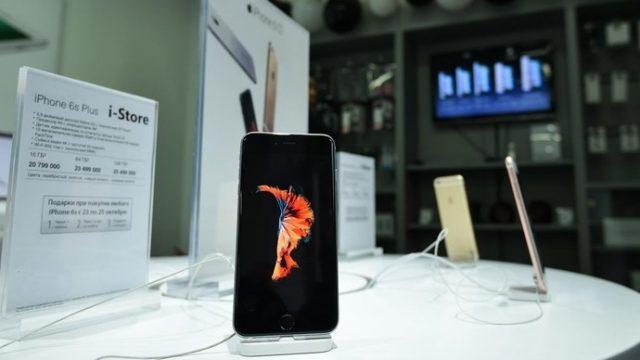 В Беларуси начались продажи iPhone 6S