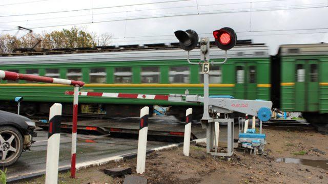 В Могилевской области погиб водитель автомобиля, столкнувшийся с поездом