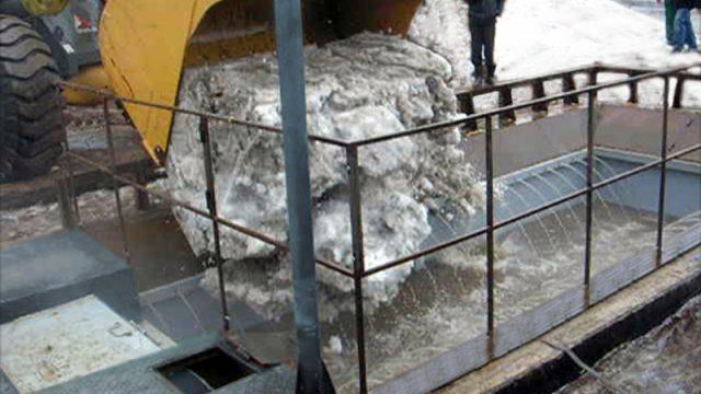 В Минске построят первый снегоплавильный пункт