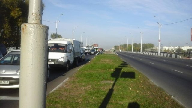 В Минске на проспекте Жукова за рулем умер автомобилист