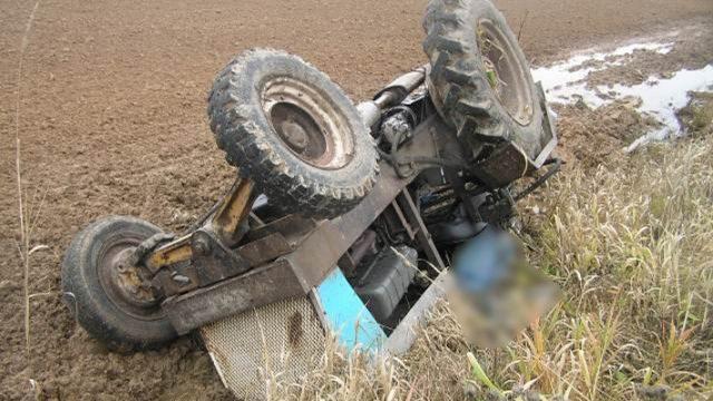 В Логойском районе в ДТП с участием трактора погиб мужчина