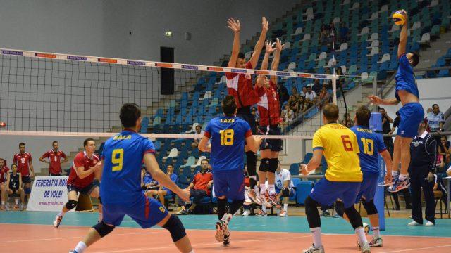Белорусские волейболисты в стартовом матче уступили словенцам на чемпионате Европы