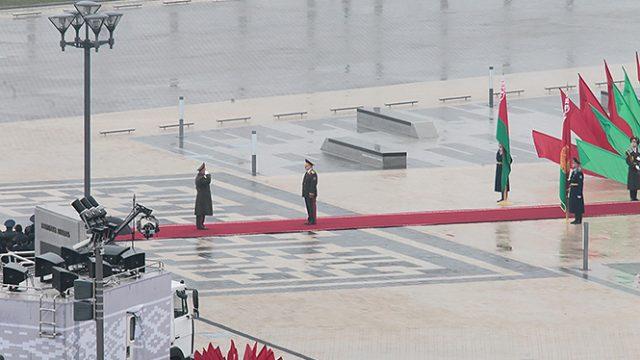Инаугурация Лукашенко