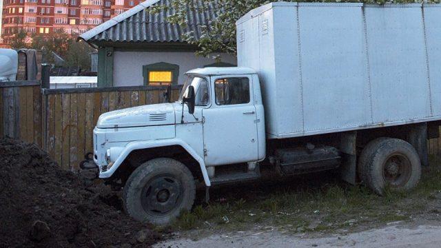 Парковка грузовых машин