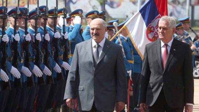 Президента Беларуси и Сербии