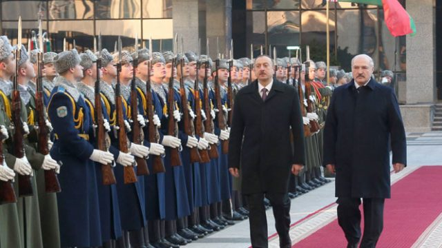 Лукашенко и Алиев