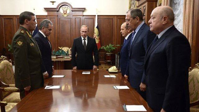 Совещание у Путина