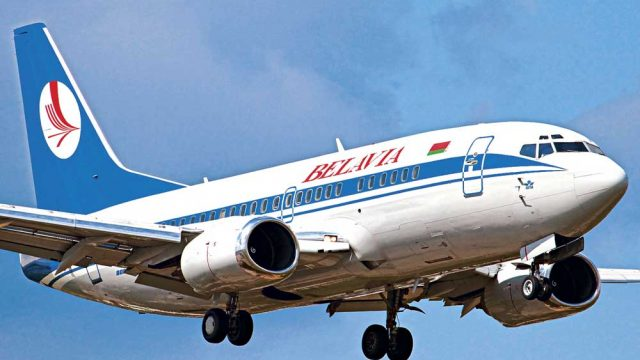 самолёт Белавиа