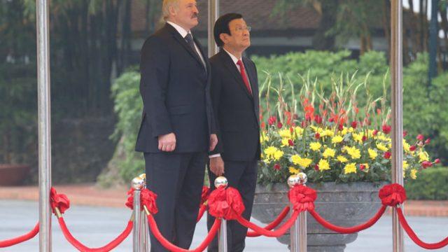 Визит Лукашенко