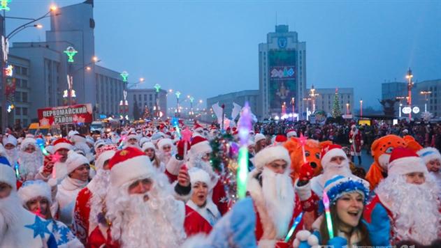 Шествие Дед Морозов