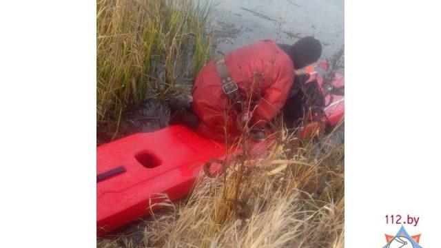 рыбаки провалились под лёд