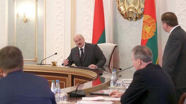 Совещание у Лукашенко