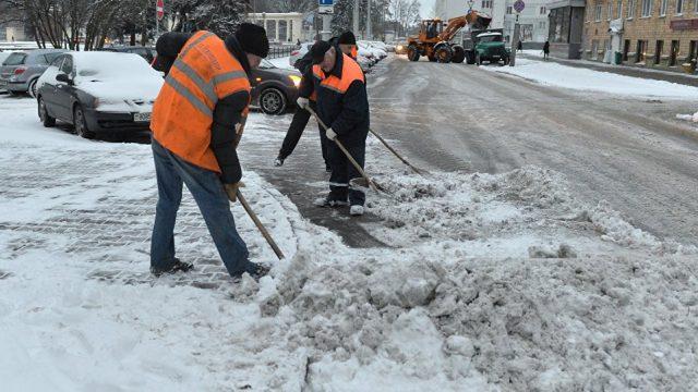 Уборщики снега