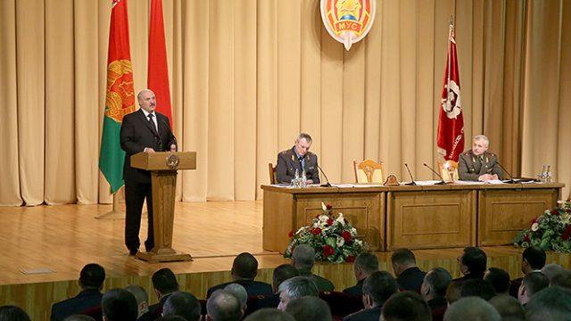 Лукашенко на коллегии