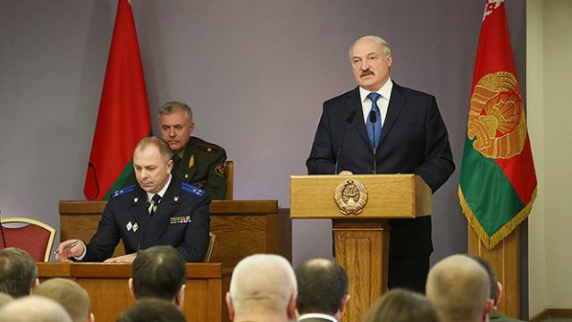 Лукашенко про Шаева