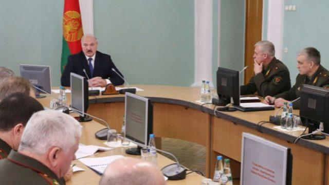 Лукашенко про войска
