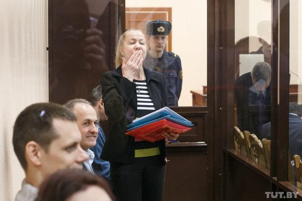 Анна Шарейко в суде