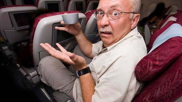 дебош в самолёте