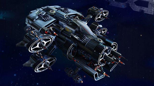 похитили космический корабль