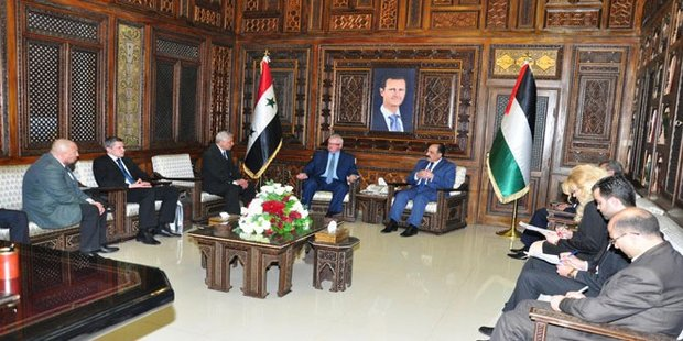 белорусская делегация в Сирии