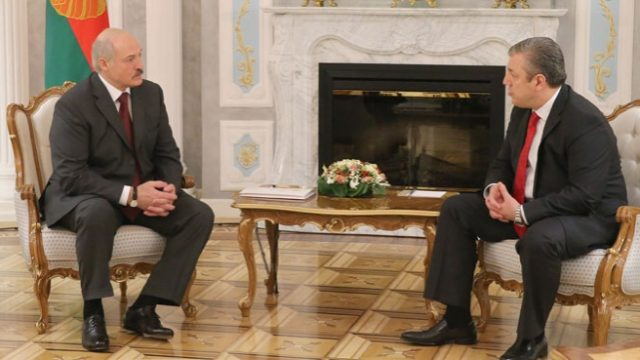 Лукашенко про Грузия