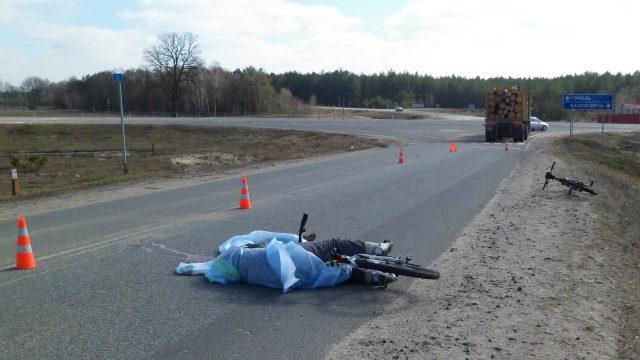 погибла велосипедистка