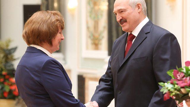 Лукашенко о женщинах