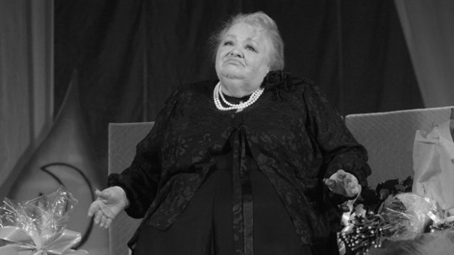 Умерла Крачковская