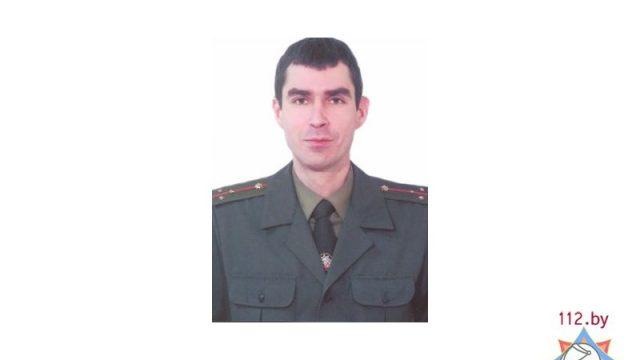 Сотрудник МЧС Орлов