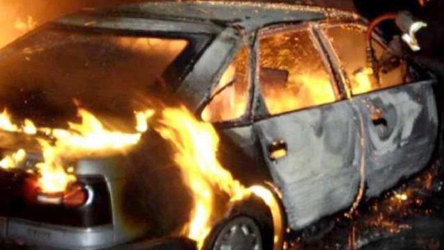 горели автомобили