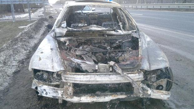 сжёг свой автомобиль