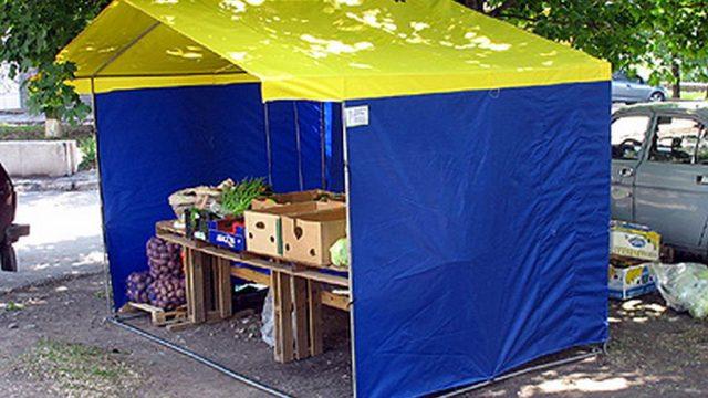 палатка с фруктами