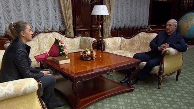 Лукашенко и Азаренко