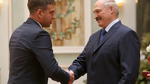 Награждение у Лукашенко