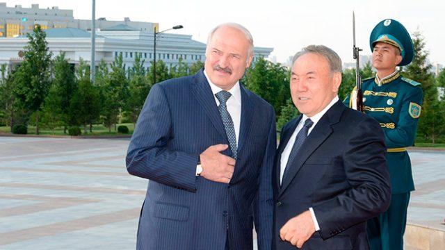 Лукашенко в Астане