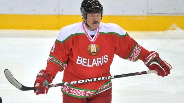 Лукашенко про хоккей