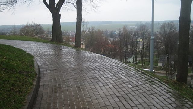 дождь в Новогрудке