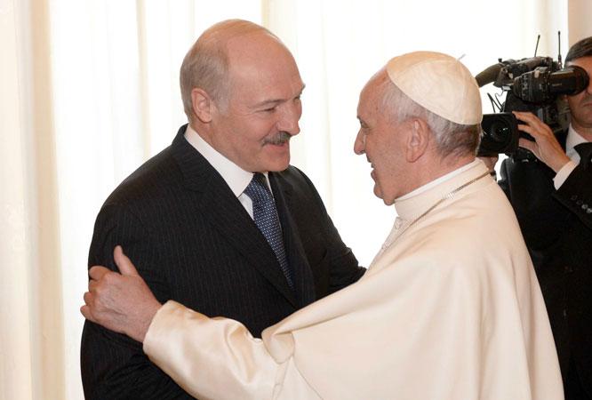 Лукашенко в Ватикане
