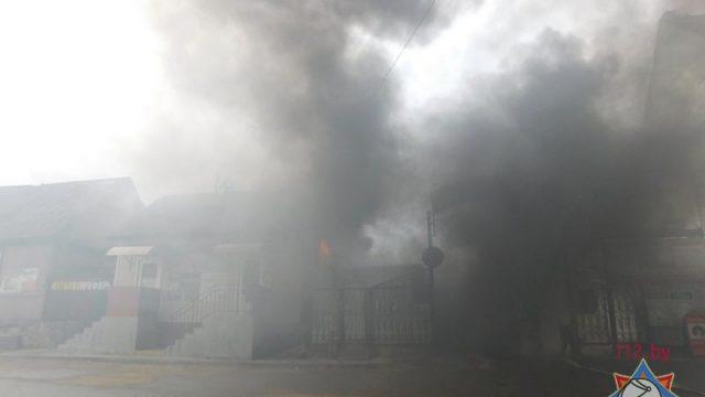 МЧС: Напожаре вМинском районе погибли пенсионерка ссыном