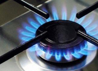 прикурить от газовой плиты