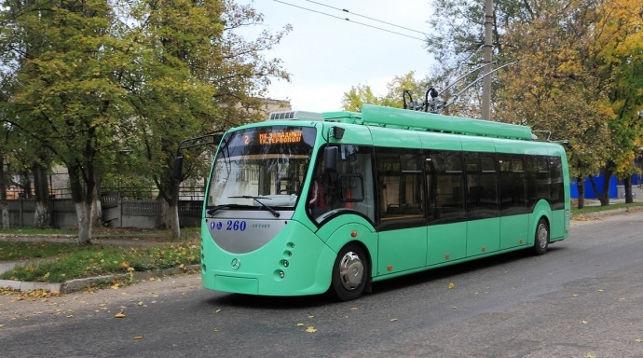бесконтактный троллейбус